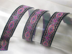 "Jacquard Ribbon 1"" Persian Band 12 Yards"