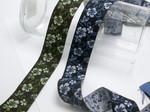 "Jacquard Ribbon 1 1/4"" (32mm) Hawaiian Floral *Colors*"