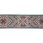 "Jacquard Ribbon 2 1/2"" Heavy Tapestry"