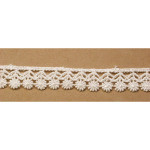 "Venise Lace 3/4"" White 15 Yards"