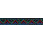 "Jacquard Ribbon 1"" Aztec Style 15 Yards"