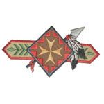 Iron On Patch Applique - Native American Patch