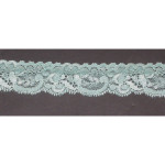 "Stretch Lace 1 1/2"" Seafoam 50 Yards"