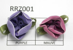 Ribbon Roses Large  Open Ombre Flower 24 Pack