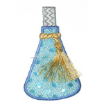 Iron On Patch Applique - Fancy Scent Bottle