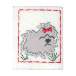 Iron On Patch Applique - Dog Patch