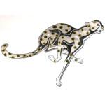 Iron On Patch Applique - Cheetah WBG Giant