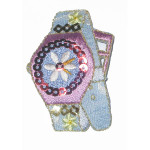Iron On Patch Applique - Sequin Wrist Watch