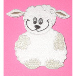 Iron On Patch Applique - Lamb