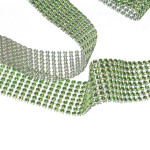 """Jewel Effect Trim 1 1/2"""" Lime By The Yard"""