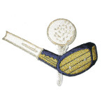 Iron On Patch Applique - Golf Club & Ball