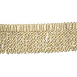 "Bullion Fringe 2 1/2"" Oatmeal Priced Per Yard"