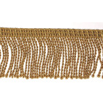 "Bullion Fringe 2 1/2"" Gold Priced Per Yard"