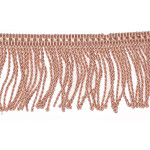 "Bullion Fringe 2 1/2"" Dusky Pink Priced Per Yard"