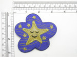 Winking Star Astrological Applique Iron On