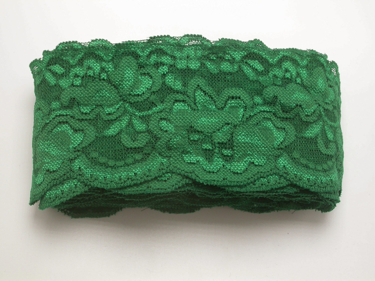 Floral Stretch Lace 2 7/8