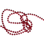 Fused Beads 5mm Red 12 Yards