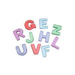 Acrylic Rhinestones Bling Alphabet 130 pieces