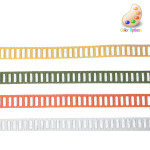 "Grosgrain Ribbon 3/8"" Reflective - *Colors* - 3 yards."