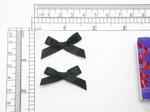"Mini Ribbon Bows 1 3/8"" Black 144 Pieces (35mm x 22mm)"