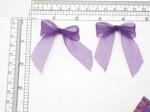 """Purple Bows 2 1/4"""" x 2 1/4""""  Organza 24 Pack (57mm x 57mm)"""