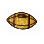 Iron On Patch Applique - Football