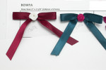 """Satin Ribbon 4"""" Bow with Flower 10 Pack"""
