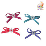 Bow With Faux Pearl Ring *Colors* 24 pack