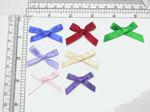 """Mini Ribbon Bow Standard 1 1/2"""" x 7/8"""" 25 Pack (38mm x 22mm)"""