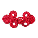 Frog Closure Red 6 pack