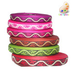 "Jacquard Ribbon 1/2"" *Colors* 5 Yards"