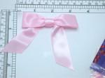 "Ribbon Bow 4 1/2"" x 3""  Pearl Pink  - 6 Pack (114mm x 76mm)"