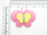 Butterfly Iron On Patch Applique - Puffy 3D