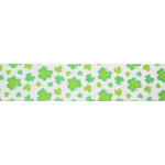 "Grosgrain Ribbon 1 1/2"" Shamrock 5 Yards"