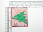 Christmas Tree Patch Iron On Embroidered  Applique