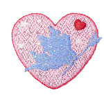 Iron On Patch Applique Valentine Heart Cupid