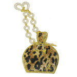 Iron On Patch Applique - Leopard Purse