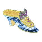 Iron On Patch Applique - Sequin Shoe