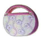 Iron On Patch Applique - Cosmetic Purse 9268