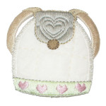 Iron On Patch Applique - Backpack Beige