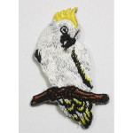 Iron On Patch Applique - Cockatoo