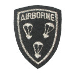 Iron On Patch Applique - Airborne Parachute Shield