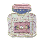 Iron On Patch Applique - Perfume Bottle