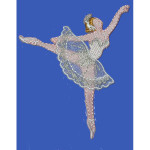 Iron On Patch Applique - Ballerina
