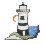 Iron On Patch Applique - Lighthouse