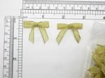 """Mini Gold Bow Metallic Lurex 50 Pieces 1 1/4"""" x 1 1/8"""" (32mm x 28.5mm)"""