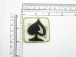 Gambling Spade Patch Iron On Embroidered Applique