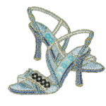 Iron On Patch Applique - Sequin Shoes