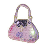 Iron On Patch Applique - Sequin Purse