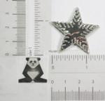 "Iron On Patch Applique - Foil Star 1 1/2"" (38.1mm)"